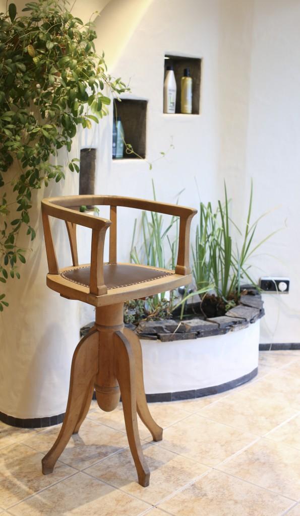 Stuhl Brunnen